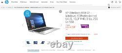 PC laptop HP EliteBook 830 G7 Intel Core i5-10310U 4,40GHz (TB) Wi-Fi6 BT5.1