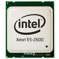 Pair 2x INTEL XEON E5-2690 2,9GHz 8 Core FCLGA2011 CPU PROCESSOR SR0L0