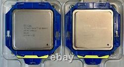 Paire Intel XEON E5-2680 V2 2.8GHz 10-Core 25M SR1A6 LGA 2011 Processeur