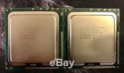 Paires Serveur Intel Xeon Processeur x5690 x2 Hexa 12Core 3,46 GHz Boost 3,73Ghz