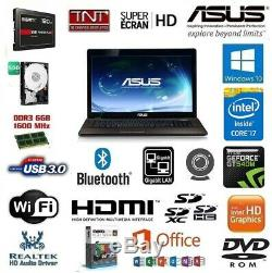 Pc Portable Intel Core I7 8 X 2.2 Ghz / 6 Go Ddr3 / SSD 120 Go / Nvidia GT540M