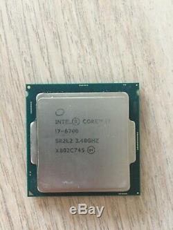 Processeur CPU Intel Core i7-6700 (3,40Ghz)