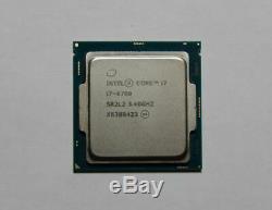 Processeur CPU Intel Core i7-6700 (3,40Ghz) socket LGA 1151