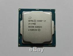 Processeur CPU Intel Core i7-7700 (3,60Ghz) socket LGA 1151