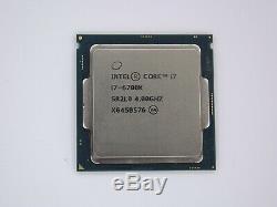 Processeur Intel 1151 Core i7-6700K (4C/8T, 4GHz/4.2GHz, BX80662I76700K) N°3