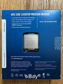 Processeur Intel Core i5-6600K Skylake Socket 1151 (3.50 GHz 3,90 GHz)