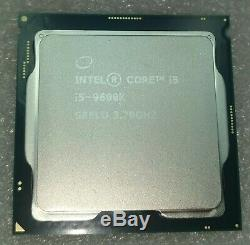 Processeur Intel Core i5-9600K SRELU 3,70Ghz LGA 1151