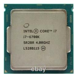 Processeur Intel Core i7 6700K 4 GHz LGA 1151