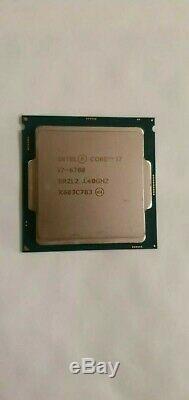 Processeur Intel Core i7-6700 (3,40 GHz 4,00 GHz en Turboboost)