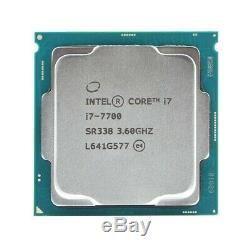 Processeur Intel Core i7-7700 Quad-Core SR338 3.6 GHz 8 fils LGA 1151 65 W