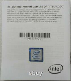 Processeur Intel Core i7 8700K 3,70Ghz 12Mb Cache LGA 1151 SR3QR 8Th Gen