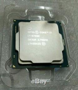 Processeur Intel Core i7-8700K (3.7 GHz) LGA 1151 SR3QR