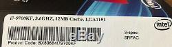 Processeur Intel Core i7-9700KF 3.6Ghz 12MB Lga 1151