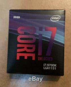 Processeur Intel Core i7-9700K 3.6GHz/LGA1151(2017)/Ss Vent. /BOX