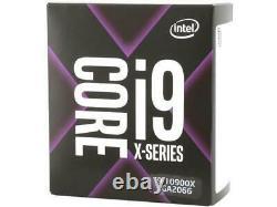 Processeur Intel Core i9-10900X X-Series, 3,7 GHz, 10 cur boîtier neuf et scellé