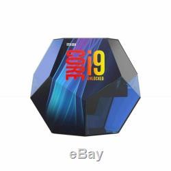 Processeur Intel Core i9 9900K 3,60 GHz OC 5 Ghz FC LGA1151 Octa Core Neuf