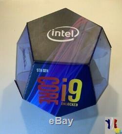 Processeur Intel Core i9-9900K 3,6 GHz Boîte 16 Mo Smart Cache 8 Coeurs Neuf