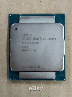 Processeur Intel Xeon E5-2690V3 2,60GHZ SR1XN LGA2011-3 12 core 30Mb cache L3