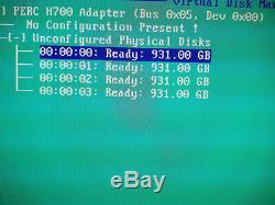 Serveur Dell PowerEdge R310 Quad-Core X3450 2.66GHz 16 Go RAM 4x 1To HDD
