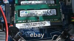 Shuttle XPC Intel Core i5-4570S 2.9 Ghz 8Go 2To HDD 32Go SSD HDMI WIFI XH81V